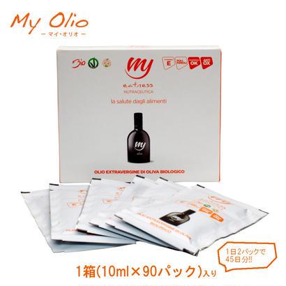 イートネス社 *持ち運べる天然サプリメント・スーパーエクストラバージンオリーブオイル*【My Olio(マイ・オリオ)】1箱(10ml×90袋)