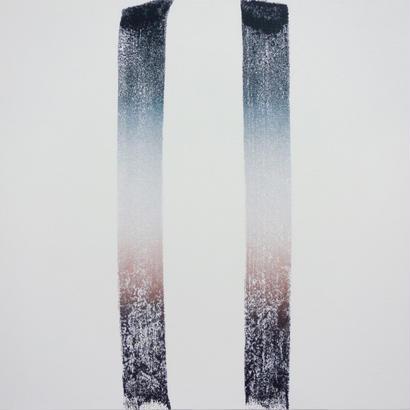 2つの線        佐々木敬介  2017年