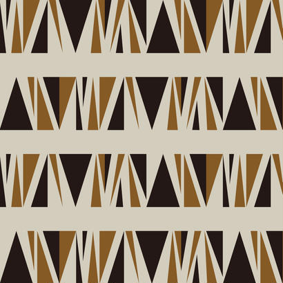 WALL PAPER/GEOMETRIC #001 brown