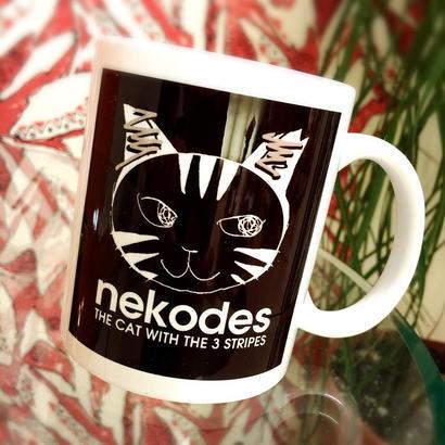 """【WEB限定セット販売】""""nekodes"""" マグカップ x 2個セットで"""