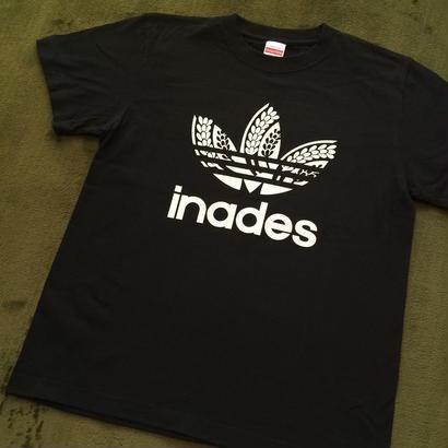 DJ-INAオフィシャルグッズ/inades  Tシャツ(ブラック)