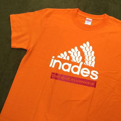 DJ-INAオフィシャルグッズ/inades Tシャツ2017(オレンジ)