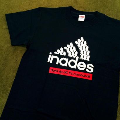 DJ-INAオフィシャルグッズ/inades Tシャツ2017(ブラック)