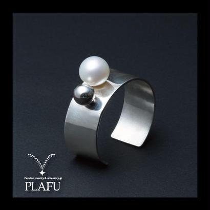 CORON series♥Pearl × silver925 BANGLE