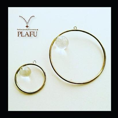 Diamond ring small earring スモールサイズ ピアス