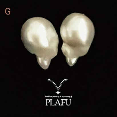 SHIZUKU  pearl ×18K  G(Sienna)