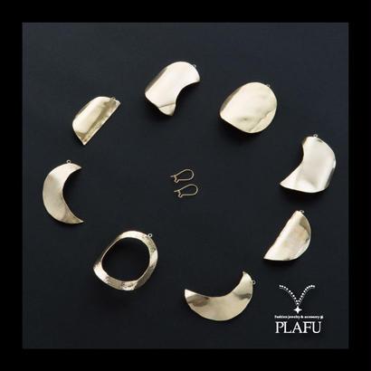 moon cycle earrings  ピアス