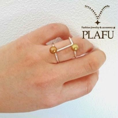 mizutama -ring- color pearl
