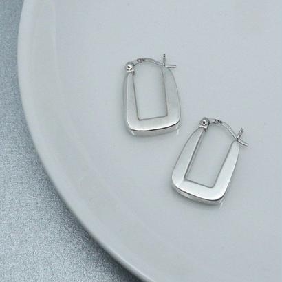 [silver925] Plump square pierce