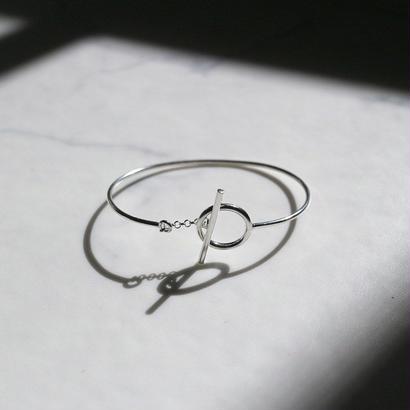 [silver925] Circle buckle bracelet
