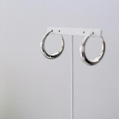 ラスト1点 [silver925] Hoop pierce