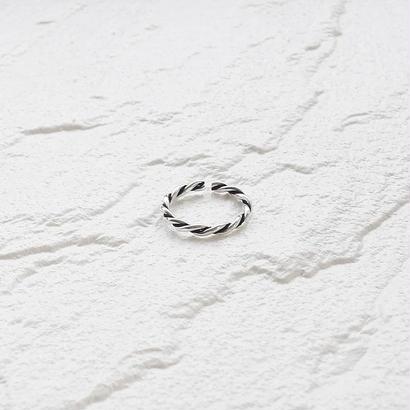 [silver925] Slim twist ring