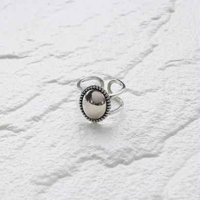 [silver925] Oval mirror ring