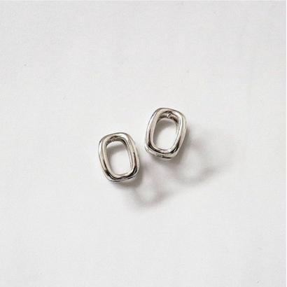 [silver925] Ellipse pierce