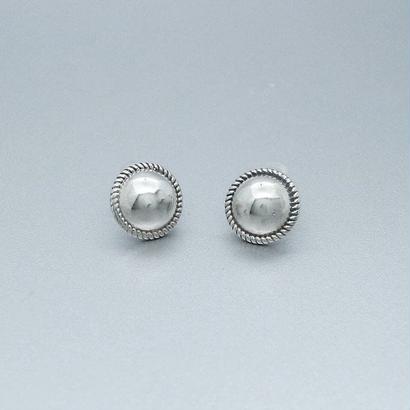 [silver925] Antique ball pierce