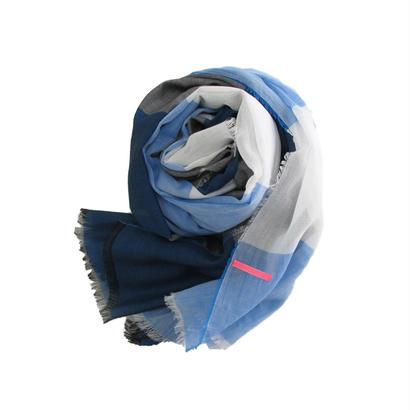 ボーダーストールM SBM-0002 BLUE