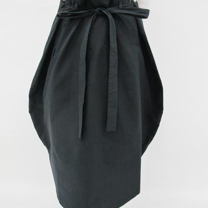 オーバルスカート WS-0001 BLACK