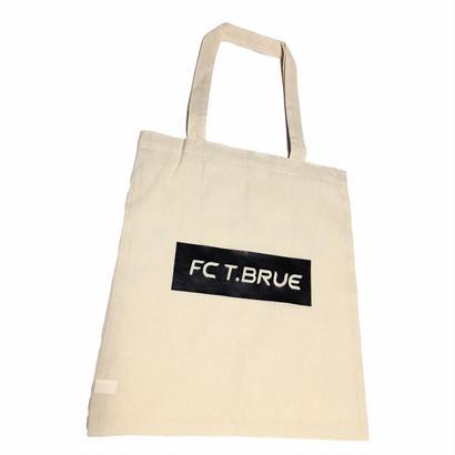 【受け取り】復刻版『FC T.BRUE』オーガニックコットンバッグA4