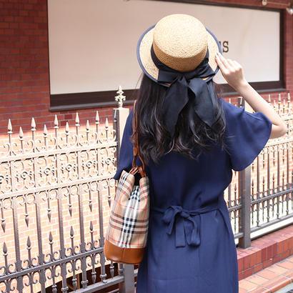 【SPRING SUMMER COLLECTION】オリジナルカンカン帽 BLK
