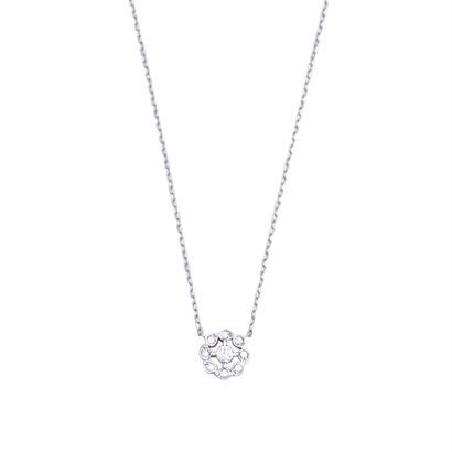 QIREINI ダイヤモンドネックレス