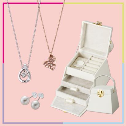 【OnlineShop限定】JewelryBOX付 ジュエリーセット¥20,000 (¥46,000相当)