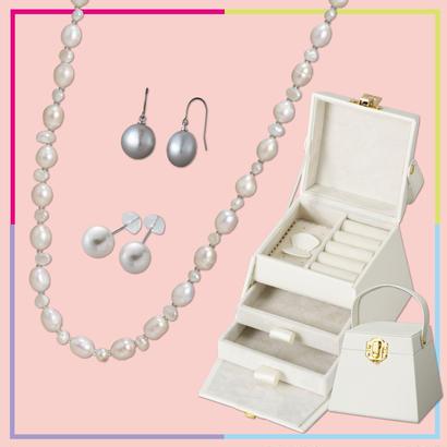【OnlineShop限定】JewelryBOX付 ジュエリーセット¥5,000 (¥16,000相当)