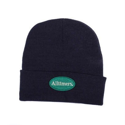 ALLTIMERS SIMPLE BEANIE NAVY