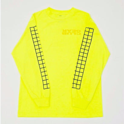 CLUBGEAR Grid Longsleeve - Toxic Green/ Yellow/ Black
