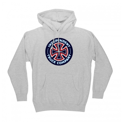 INDEPENDENT COMBO T/C HOODY GREY HEATHER