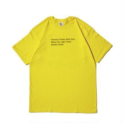 Hellrazor Kick Out Shirt - Yellow
