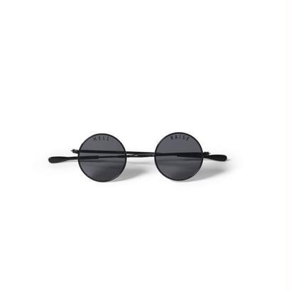 Hellrazor Mickey Sunglasses - Black/Smoke
