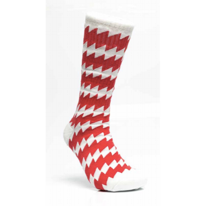 CSC X CHRYSTIE Socks White/Red