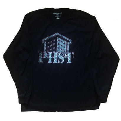 PHST METAL LOGO (BLACK LONG SLEEVE)
