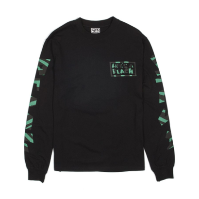 LIFE'S A BEACH LAB - Jungle Long Sleeve Black