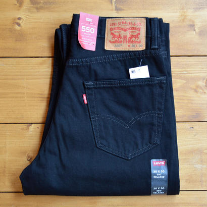 LEVI'S 550 RELAXED FIT JEANS BLACK