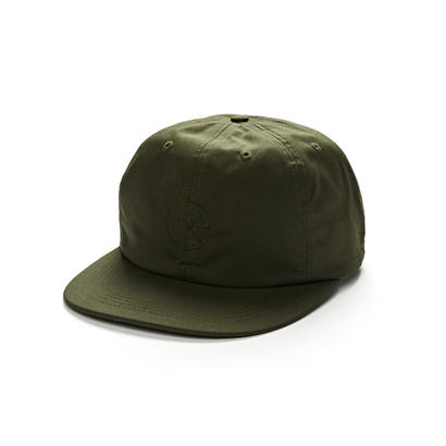 POLAR SKATE CO. WAXED COTTON CAP Olive
