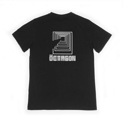 OCTAGON CODIFIED T-SHIRT - BLACK