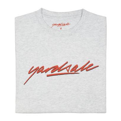 YARDSALE Ash script T-shirt