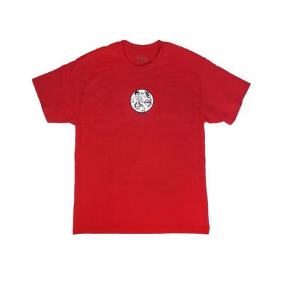LURKNYC COLD WORLD T-SHIRT RED