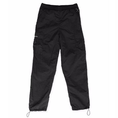 POP TRADING CO. CARGO TRACK PANTS BLACK