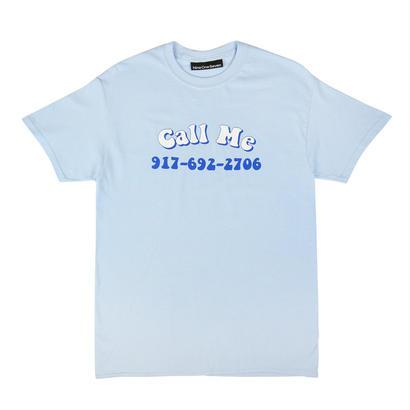 CALL ME 917 Groovy Call Me T-Shirt Blue