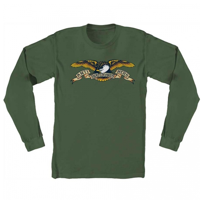 ANTI HERO EAGLE LONGSLEEVE MILLITARY GREEN