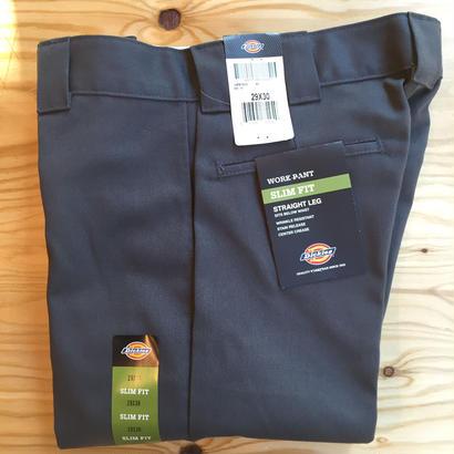 Dickies Slim Fit 873 Work Pants - Charcoal