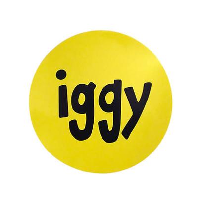 IGGY GIANT IGGY STICKER