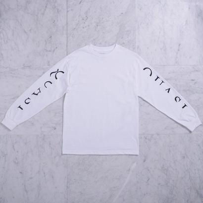 QUASI SKATEBOARDS Mono L/S T-shirts [White]