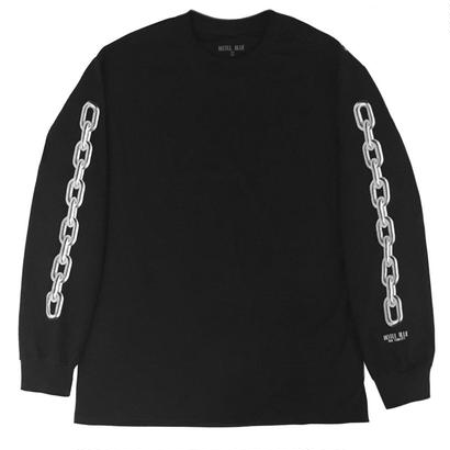 HOTEL BLUE Chains Longsleeve Black