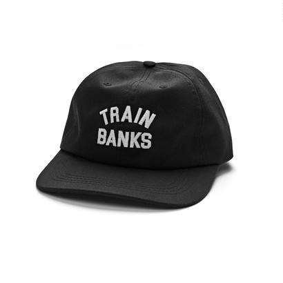 POLAR SKATE CO. TRAIN BANKS CAP BLACK