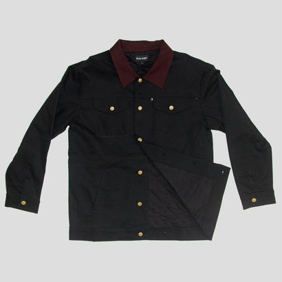 "PASS~PORT WORKERS ""LATE"" JACKET BLK"