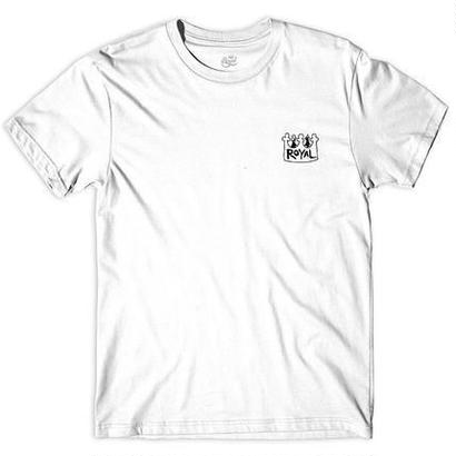 Castle Bolts x Royal  Collab Tee  White