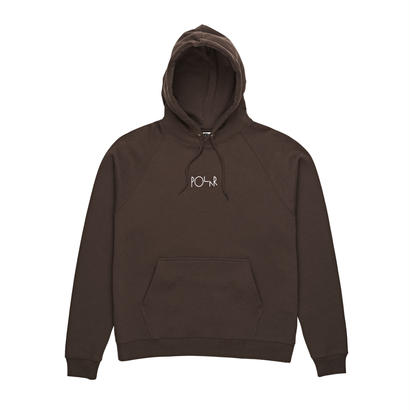 POLAR SKATE CO. DEFAULT HOODIE Brown